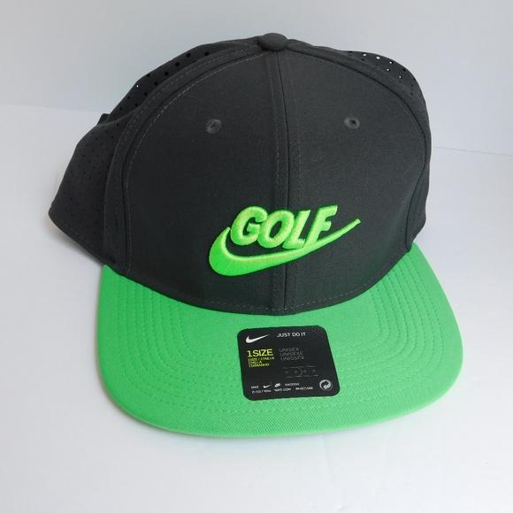 outlet store d617f 38510 Nike Golf True Snap Back Hat Mens Adjustable Cap